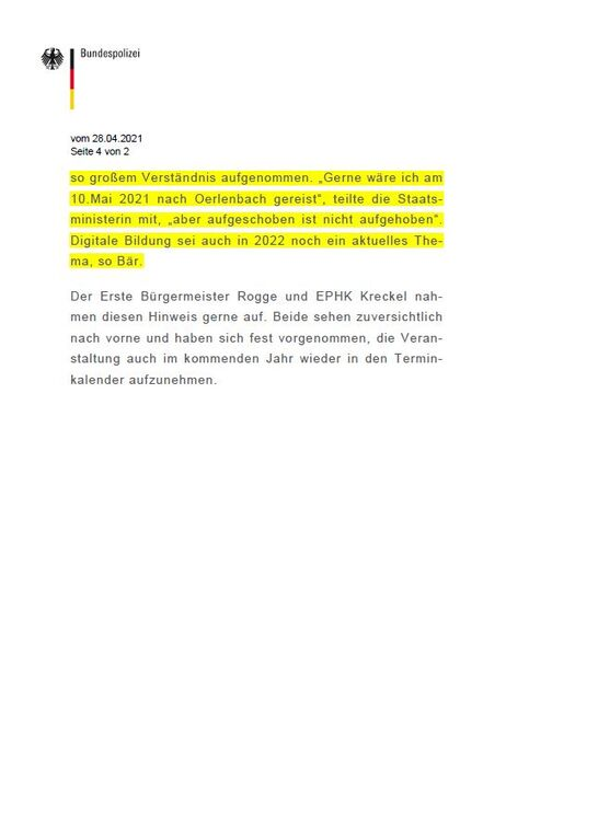 Oerlenbacher Gespräche 2021 abgesagt - Seite 4
